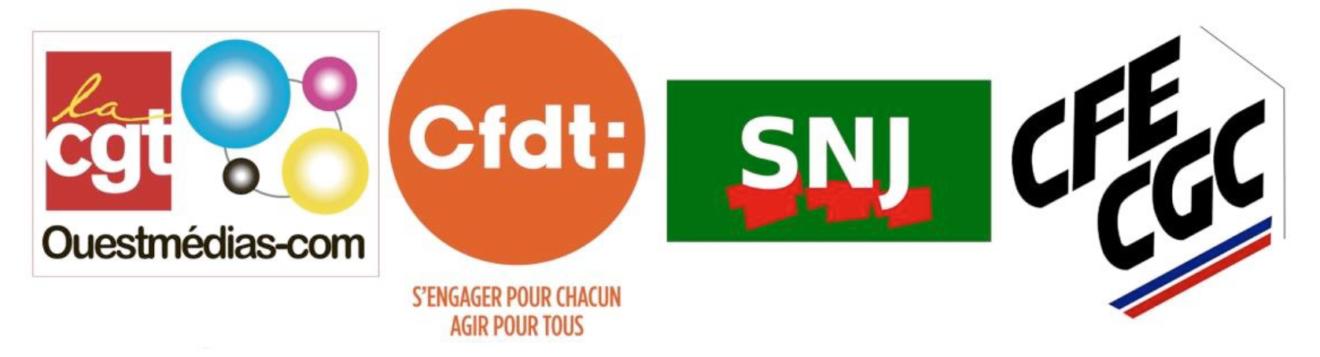 Réorganisation à Ouest-France : tous en grève  dans CGT UPM Chapelle Darblay logInterouestfrance-1320x357