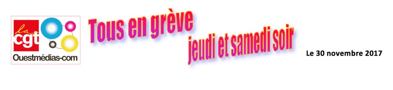 Ouest France Appel à deux non parutions dans CGT UPM Chapelle Darblay ouestmediaGreve-1320x305