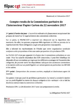 Compte-rendu de la Commission paritaire  dans CGT UPM Chapelle Darblay papierCCN2dec17-250x353