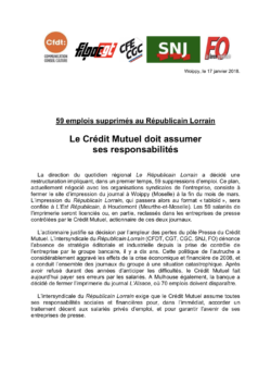 Le Crédit Mutuel doit assumer ses responsabilités dans CGT UPM Chapelle Darblay RepuLorrain17janv18-250x353
